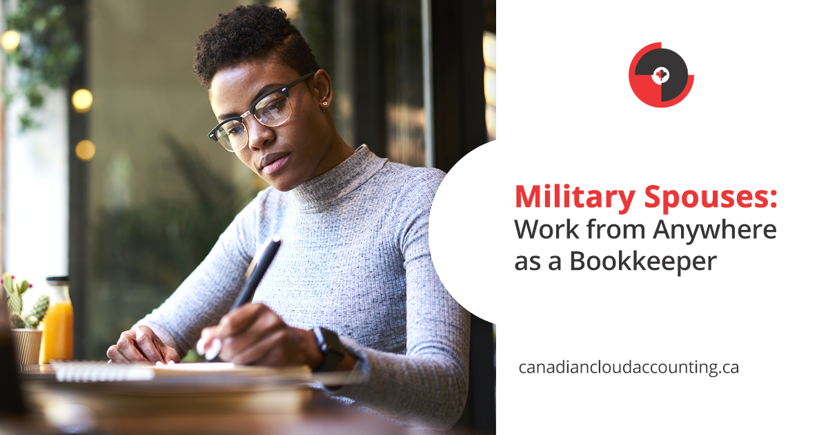 Military spouse bookkeeper